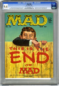 Magazines:Mad, Mad #46 (EC, 1959) CGC NM 9.4 Off-white to white pages. Upside-downissue. Kelly Freas cover. Mort Drucker, Don Martin, Wall...