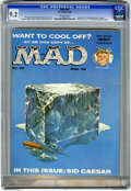 """Magazines:Mad, Mad #49 (EC, 1959) CGC NM- 9.2 Off-white pages. Contains thecontroversial """"Gettysburg Address"""" parody. Sid Caesar story. Ke..."""