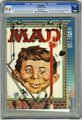 """Magazines:Mad, Mad #50 (EC, 1959) CGC VF/NM 9.0 Off-white pages. """"Peter Gunn"""" parody. Kelly Freas cover. Mort Drucker, Don Martin, Wally Wo..."""
