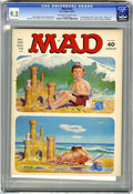"""Magazines:Mad, Mad #162 (EC, 1973) CGC NM- 9.2 Off-white to white pages. """"Maude""""TV spooof. Mort Drucker, Dave Berg, Don Martin, and Jack D..."""