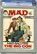 "Magazines:Mad, Mad #171 (EC, 1974) CGC NM 9.4 Off-white pages. Norman Mingo""Sting"" parody cover with Richard Nixon and Spiro Agnew. Jack D..."
