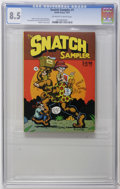 Bronze Age (1970-1979):Alternative/Underground, The Snatch Sampler #nn (Apex Novelties, 1977) CGC VF+ 8.5 Off-white to white pages. Robert Crumb cover. Crumb Spain, Jim Osb...