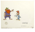 "Animation Art:Production Cel, Woody Woodpecker ""Coo Coo Nuts"" Animation Production Cel #1352 andClean-Up Drawing Original Art, Group of 4 (Walter Lantz Pro...(Total: 5 Items)"