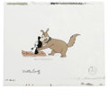 """Animation Art:Production Cel, """"Chilly's Hide-A-Way"""" Animation Production Cel Original Art (WalterLantz Productions, 1971). Smedley wants Chilly out of hi... (Total:2)"""