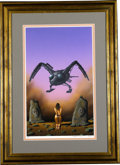 "Original Comic Art:Covers, Tim White - ""Destroyers of Lan-Kern"" Paperback Cover PaintingOriginal Art (Methuen and Co. Ltd., 1982). Tim White has detai..."