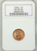 Indian Cents: , 1893 1C MS65 Red NGC. NGC Census: (146/50). PCGS Population(80/24). Mintage: 46,642,196. Numismedia Wsl. Price for problem...