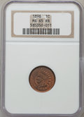 Indian Cents: , 1898 1C MS65 Red and Brown NGC. NGC Census: (123/17). PCGSPopulation (50/3). Mintage: 49,823,080. Numismedia Wsl. Price fo...