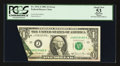Error Notes:Foldovers, Fr. 1911-J $1 1981 Federal Reserve Note. PCGS Apparent About New53.. ...