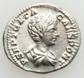 Ancients:Ancient Lots  , Ancients: ROMAN EMPIRE. Faustina Senior - Geta. Lot of four (4) ARdenarii.... (Total: 4 coins)