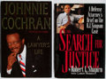 Books:Biography & Memoir, [Legal Biographies]. Shapiro and Cochran. Group of 2, Both Signed and Inscribed by Author. Various publishers. Very good.... (Total: 2 Items)