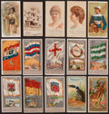 "Non-Sport Cards:Lots, 1880's Multi-Brand ""N"" Tobacco Insert Card Collection (15). ..."