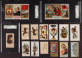 "Non-Sport Cards:Lots, 1880's Multi-Brand ""N"" Tobacco Insert Card Collection (20). ..."