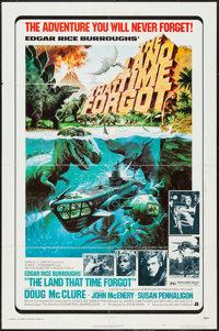 """The Land That Time Forgot (American International, 1975). One Sheet (27"""" X 41""""). Science Fiction"""