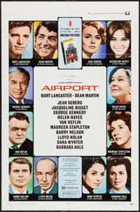 "Airport (Universal, 1970). One Sheet (27"" X 41""). Drama"