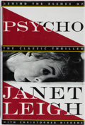Books:Biography & Memoir, Janet Leigh. SIGNED. Psycho: Behind the Scenes of the ClassicThriller. Harmony, 1995. First edition, first printing...
