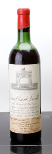 Red Bordeaux, Chateau Leoville Las Cases 1961 . St. Julien. htms, bsl, lnl. Bottle (1). ... (Total: 1 Btl. )