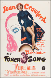 "Torch Song (MGM, 1953). One Sheet (27"" X 41""). Romance"