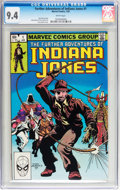 Modern Age (1980-Present):Miscellaneous, The Further Adventures of Indiana Jones #1 (Marvel, 1983) CGC NM 9.4 White pages....