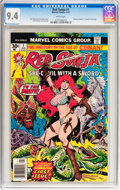 Bronze Age (1970-1979):Miscellaneous, Red Sonja #1 (Marvel, 1977) CGC NM 9.4 White pages....