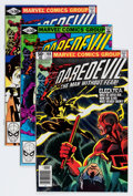 Modern Age (1980-Present):Superhero, Daredevil Group (Marvel, 1981-86) Condition: Average NM-....(Total: 8 Comic Books)