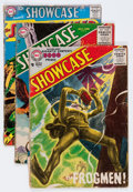 Silver Age (1956-1969):Miscellaneous, Showcase Group (DC, 1956-60) Condition: Average GD-.... (Total: 9Comic Books)