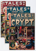 Golden Age (1938-1955):Horror, Tales From the Crypt #27, 34, and 35 Group (EC, 1951-53) Condition:Average VG.... (Total: 3 Comic Books)