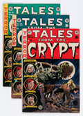 Golden Age (1938-1955):Horror, Tales From the Crypt Group (EC, 1953-55) Condition: Average VG....(Total: 7 Comic Books)