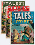 Golden Age (1938-1955):Horror, Tales From the Crypt Group (EC, 1950-53) Condition: Average GD....(Total: 7 Comic Books)