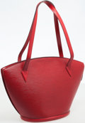 Luxury Accessories:Bags, Louis Vuitton Red Epi Leather St. Jacques GM Tote Bag. ...