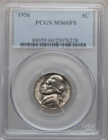 Jefferson Nickels: , 1956 5C MS66 Full Steps PCGS. PCGS Population (45/1). NGC Census:(49/2). Numismedia Wsl. Price for problem free NGC/PCGS ...