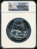 Modern Bullion Coins, 2010 25C Yellowstone Five Ounce Silver, Early Releases GemUncirculated NGC....