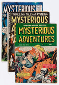 Golden Age (1938-1955):Horror, Mysterious Adventures/Mysterious Stories Group (StoryComics/Premier, 1952-55).... (Total: 4 Comic Books)