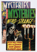 Golden Age (1938-1955):Horror, Mysteries Weird and Strange #1 and 8 Group (Superior, 1953-54)....(Total: 2 Comic Books)