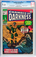 Bronze Age (1970-1979):Horror, Chamber of Darkness #5 (Marvel, 1970) CGC NM+ 9.6 Off-white towhite pages....