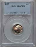 1952 10C MS67 Full Bands PCGS. PCGS Population (17/0). NGC Census: (32/0). Mintage: 99,000,000. Numismedia Wsl. Price fo...