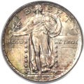 Standing Liberty Quarters, 1919 25C MS66 Full Head PCGS. CAC....