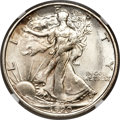 Walking Liberty Half Dollars, 1920-S 50C MS63 NGC. CAC....