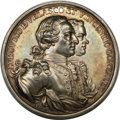 Betts Medals, Betts-443. 1762 Capture of the Morro Castle, Havana. Silver. MS62NGC....