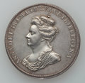 Betts Medals, Betts-97. 1702 American Treasure Captured at Vigo. Silver. XF....