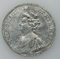 Betts Medals, Betts-98, obverse splasher, variant. 1702 American TreasureCaptured at Vigo. White metal. VF....