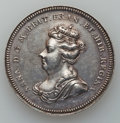 Betts Medals, Betts-98. 1702 American Treasure Captured at Vigo. Silver. VF+....