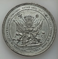 Betts Medals, Betts-93. 1702 American Treasure Captured at Vigo. White metal.XF....