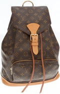 Luxury Accessories:Bags, Louis Vuitton Classic Monogram Canvas Montsouris MM Backpack. ...
