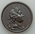 Betts Medals, Betts-85-86. 1697 Victory the Companion of the French. Bronze.XF....