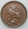 Betts Medals, Betts-48. 1674 Victory at Martinique. Bronze. XF....
