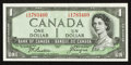 Canadian Currency: , BC-29b $1 1954 Devils Face.. ...