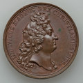 Betts Medals, Betts-52, obverse 2. 1677 Victory at Tobago. Bronze. XF....