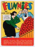 Platinum Age (1897-1937):Miscellaneous, The Funnies #9 (Dell, 1937) Condition: GD/VG....