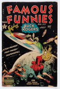 Golden Age (1938-1955):Science Fiction, Famous Funnies #212 (Eastern Color, 1954) Condition: GD+....