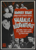 "Movie Posters:Action, All Through the Night (Warner Brothers, R-1950s). Swedish One Sheet(27.5"" X 39.5""). ..."